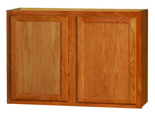 Kitchen Kompact Chadwood 42 X 30 Oak Wall Cabinet At Menards