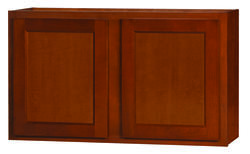 "Kitchen Kompact Glenwood 48"" x 30"" Beech Wall Cabinet at ..."