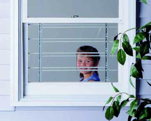 John Sterling 18 22 H Swing Open 5 Bar Window Child Safety Bar At Menards