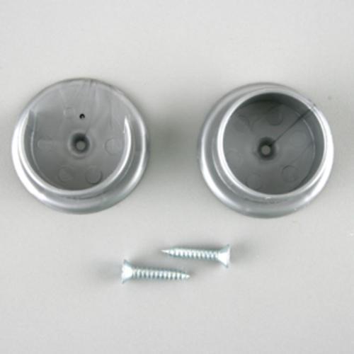 Closet Pro 1 3 8 Platinum Powder Coat Rod