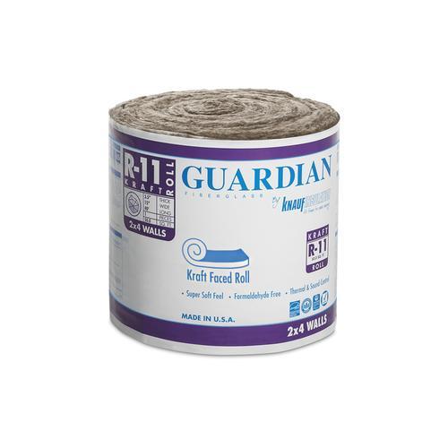 Guardian R 11 Kraft Faced Fiberglass Insulation Roll 15 Quot X