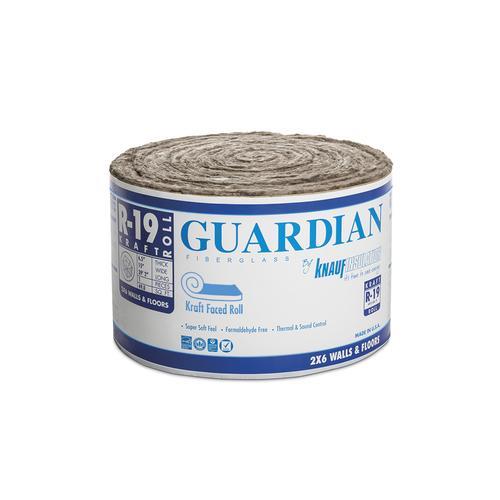 Guardian R 19 Kraft Faced Fiberglass Insulation Roll 15 Quot X