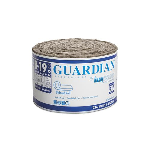Guardian R 19 Unfaced Fiberglass Insulation Roll 15 Quot X 39