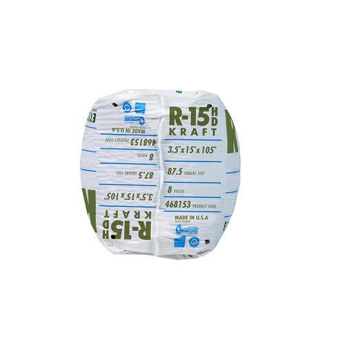 Ecobatt 174 R 15 Unfaced Fiberglass Insulation Batt 15 Quot X 105