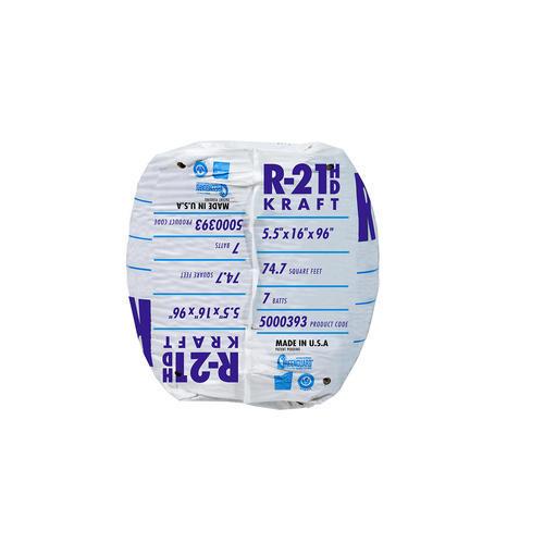 Ecobatt 174 R 21 Unfaced Fiberglass Insulation Batt 16 Quot X 96