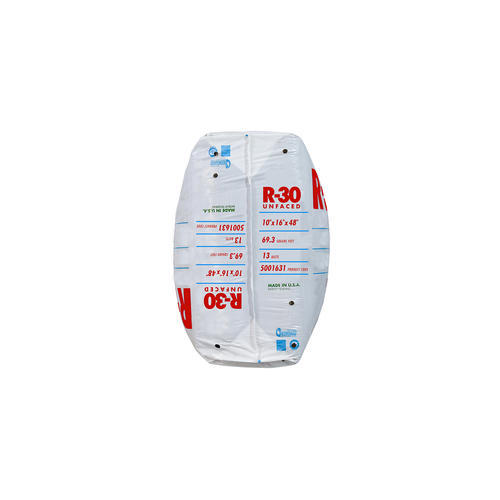 Ecobatt 174 R 30 Unfaced Fiberglass Insulation Batt 16 Quot X 48