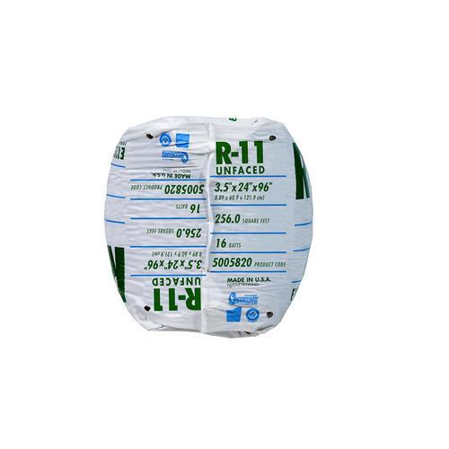 Ecobatt 174 R 11 Unfaced Fiberglass Insulation Batt 24 Quot X 96