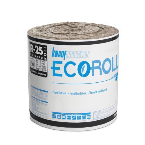 Ecoroll R 25 Unfaced Fiberglass Insulation Roll 23 Quot X 25