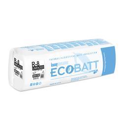 Ecobatt 174 R 8 Unfaced Fiberglass Insulation Batt 24 Quot X 96