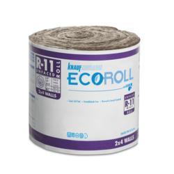 Ecoroll R 11 Unfaced Fiberglass Insulation Roll 15 Quot X 70