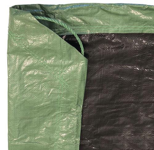 Yardworks® 9' x 9' Green Standard-Duty Cinch Tarp at Menards®