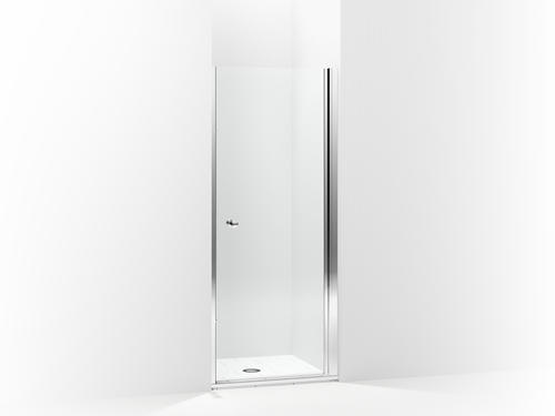 Sterling Finesse 30 W X 67 H Semi Frameless Pivot Shower Door With Clear Glass At Menards