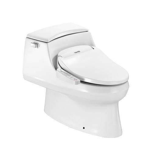 Novita Series 1 Elongated Bidet Toilet Seat In White At Menards