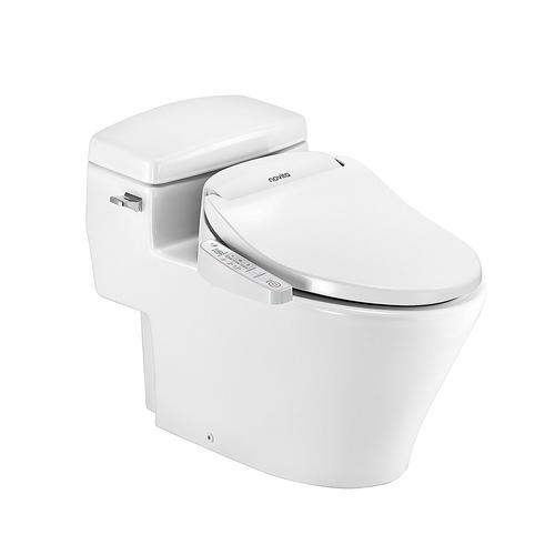 Novita Series 1 Elongated Bidet Toilet Seat In White At