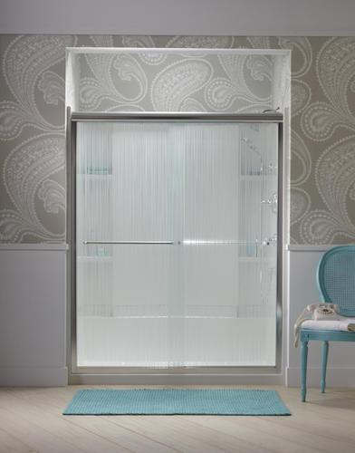 Sterling Finesse 59 58 X 70 516 Frameless Sliding Shower Door
