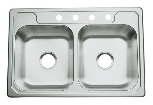 Sterling Middleton Top Mount 33 Quot Stainless Steel 4 Hole
