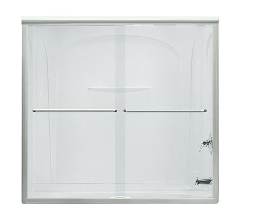 Sterling Finesse Quick Install 59 1 4 X 58 3 4 Sliding Bath