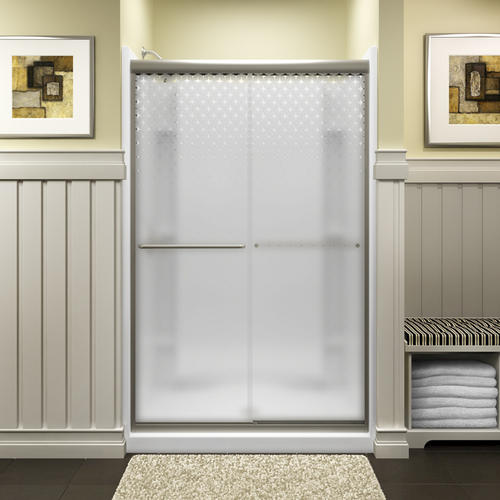 Sterling Finesse 47 58 X 70 516 Frameless Sliding Shower Door