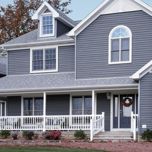 Harbor Ridge Double 4 X 12 6 Dutchlap Vinyl Siding At Menards