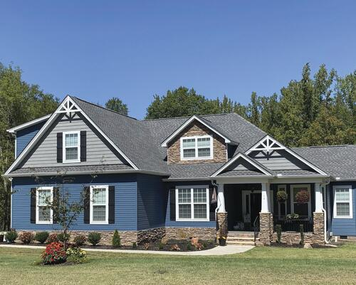 Harbor Ridge Plus Double 4 X 12 6 Dutchlap Vinyl Siding At Menards