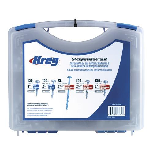 Kreg® Pocket-Hole Screw Kit - 675 Piece at Menards®