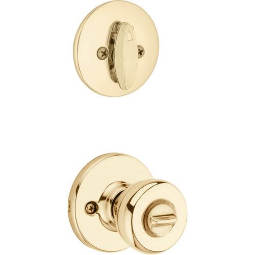 Polished Brass Single Cylinder Entry Deadbolt New!