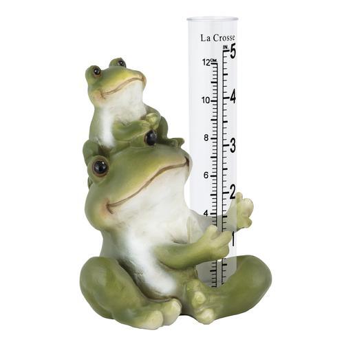 La Crosse® Frog Rain Gauge
