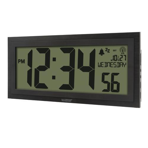 Atomic Digital Wall Clock At Menards