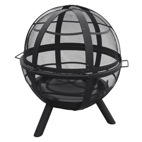 Backyard Creations 35 Sphere Steel Fire Pit At Menards