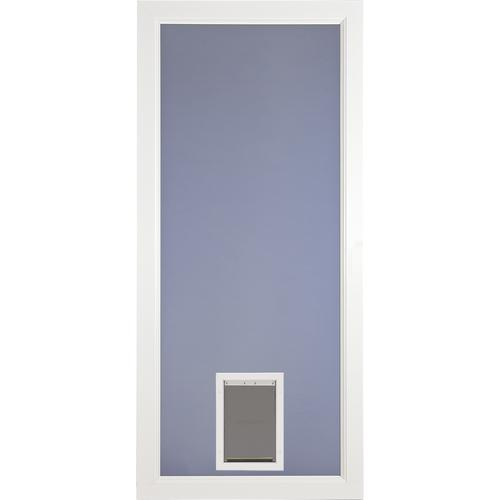 Larson Lakeview Fullview Pet Door 36 X 80 White Clear Gl