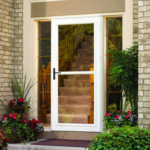 Larson Lakeview Splitview Plus Low E Glass Storm And Screen Door At
