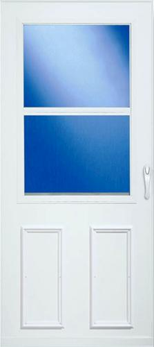 Larson 174 Value Core Self Storing High View Storm Door At