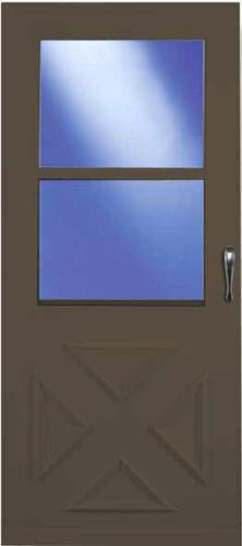 menards screen doors. Larson Value Core Crossbuck Self Storing Storm and Screen Door at Menards