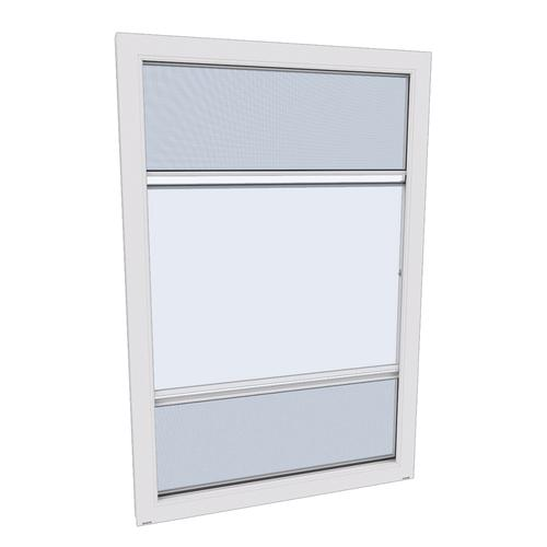 Larson Scenix White Porch Window With Screen Away