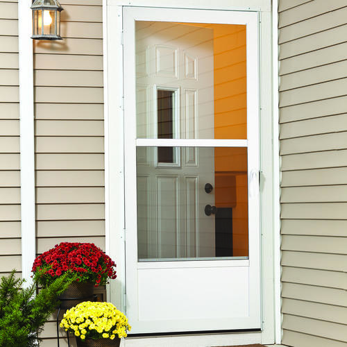 storm doors menards.  Larson Preston Mid View Storm and Screen Door at Menards