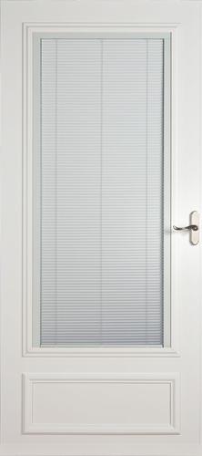 Larson Aurora Blinds-Between-the-Glass Storm Door w/Nickel at Menards®