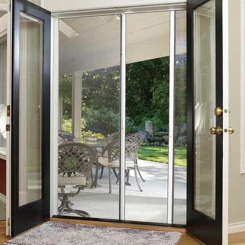 Larson® Escape 200 Retractable Double Screen Door at Menards®