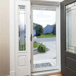 Larson 174 Lakeview Plus Green Full View Storm Door At Menards 174