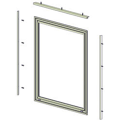 Larson® Interior Storm Window With Low E Glass At Menards®