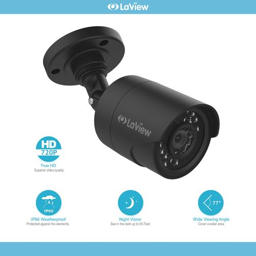 Wired Security Cameras | Laview 720p Wired Security Camera At Menards