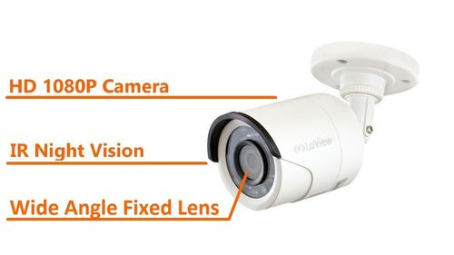 LaView LV-HB732F3T 2MP Add-On CCTV Camera with Night Vision