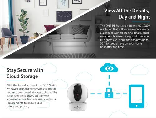 LaView™ 1080P HD Wi-Fi Wireless Security Camera at Menards®