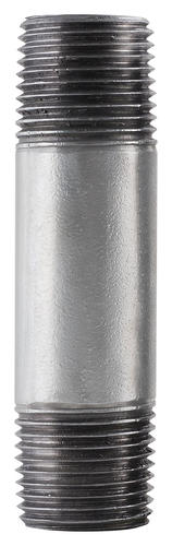 "LDR Industries® 1/4"" x 3"" Galvanized Pipe Nipple"