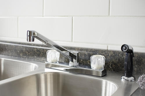 Plumb Works® Two-Handle Chrome Kitchen Faucet At Menards®