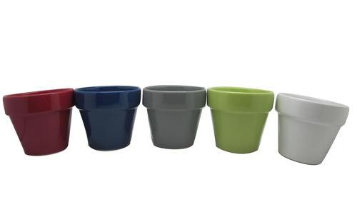 Master Garden™ Glazed Ceramic Planter - Assorted Colors at