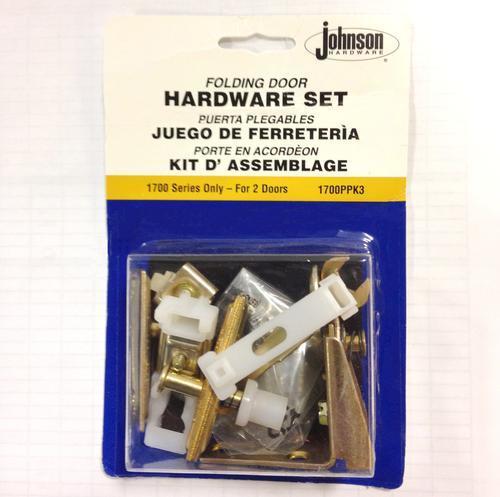Johnson Hardware® 2-Panel Bi-fold Door Hardware Kit at