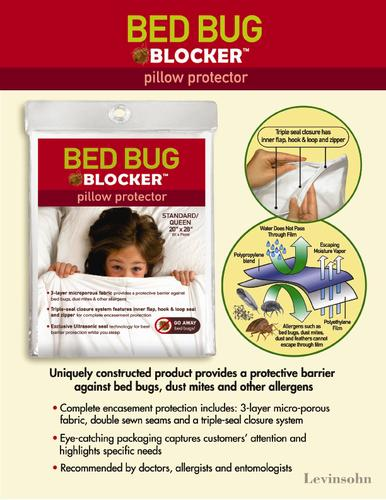 bed bug blocker king pillow protector - 2 pk. at menards®