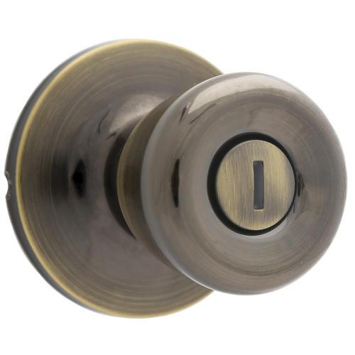 Atlas® Tulip Bed U0026 Bath Privacy Knob   Antique Brass At Menards®