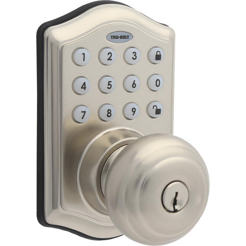 Tru Bolt 174 Sydney Touchpad Deadbolt W Passage Knos At Menards 174