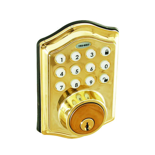TruBolt Keyless Touchpad Electronic Deadbolts at Menards